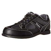 Dexter Pro Am II Bowling Shoes, Black/Grey Alloy