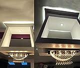 8 Lights Ceiling Light Modern Flush Mount Crystal