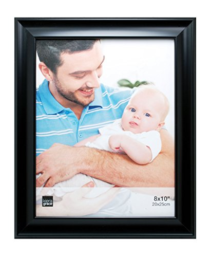 Kiera Grace Reagan Picture Frame, 8 by 10 Inch, Black