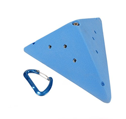 Volumes #3 (Low Profile Triangle) | Climbing Holds | Blue by Atomik Climbing Holds