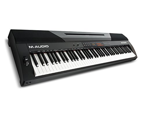 M-Audio Accent | Digital Piano with 88 Hammer-Actions Keys,