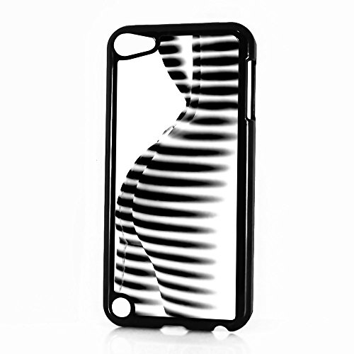 ( For iPod 5 iTouch 5 ) Case Cover Phone Case Back Cover - HOT10187 Zebra Pattern Girl (5 Zebra Case Ipod Touch)