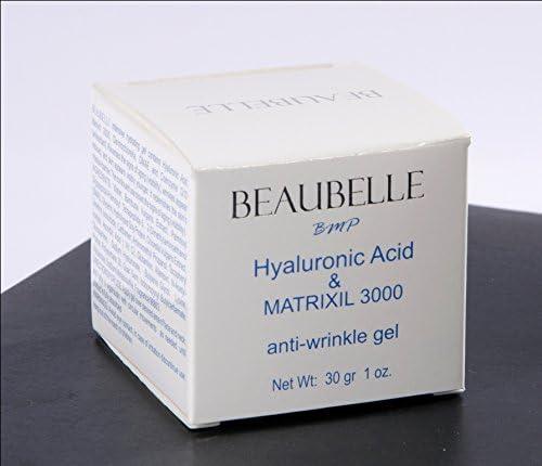 Beaubelle ácido hialurónico & Matrixyl 3000 GEL Facial Anti ...
