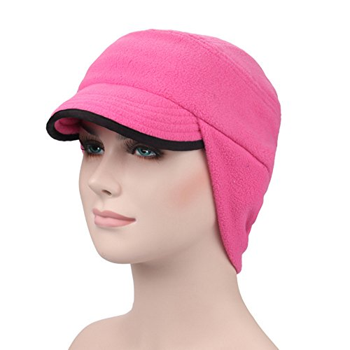ezyoutdoor-unisex-windproof-thermal-fleece-outdoor-sports-cap-outdoor-windproof-fleece-earflap-hat-w