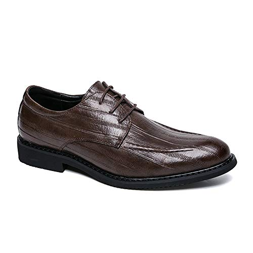 Oxford Chaussures Marron Lacets Fashion Xinguang Et Casual Hommes Ying Pour Confortables Simples À Inx5pRA7A