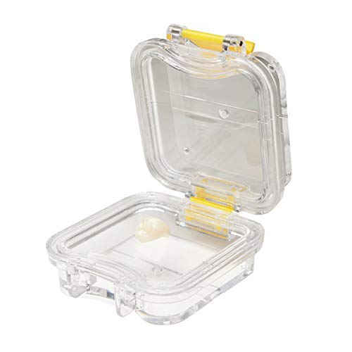 Wonderclasp Pillow Crown Box - Box of 100 - Transparent Membrane Film Tooth Box with Latch