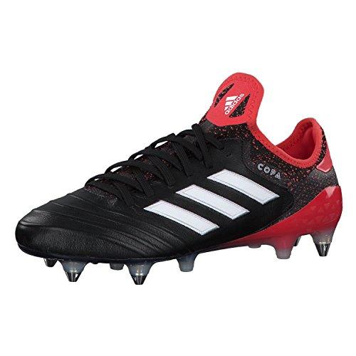 Scarpe Da Calcio Adidas Uomo 18.1 Sg Scarpe Da Calcio Nere (nucleo Nero / Calzatura Bianco / Corallo Reale)