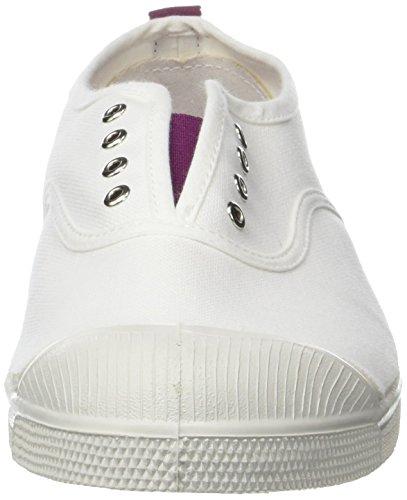 Bensimon Tennis Elly Whity, Baskets Femme Bleu (Violet)