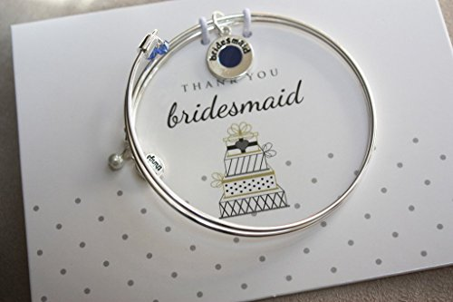 Cake - Bridesmaid - Meaningful Message Bracelet Set for Bridal Party