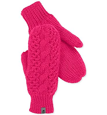 The North Face Womens Cable-Knit Micro-Fleece Gloves