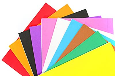 "ALL in ONE Mixed Color 10pcs Self Adhesive Eva Foam Sheet for DIY Craft 21x30cm (8""x12"")"