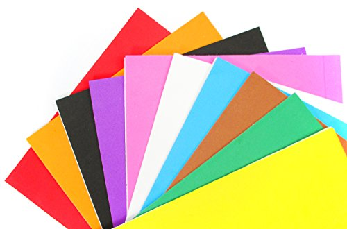 ALL in ONE Mixed Color 10pcs Self Adhesive Eva Foam Sheet for DIY Craft 21x30cm (8x12)