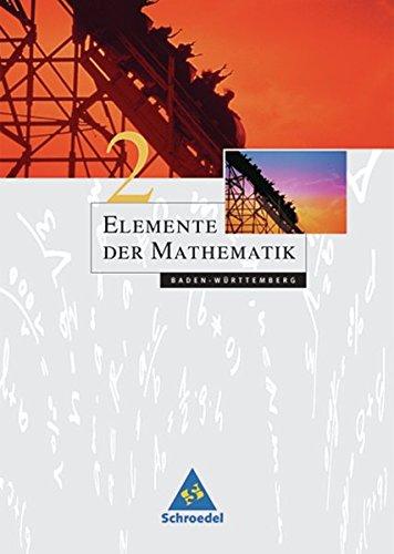 Elemente der Mathematik SI - Ausgabe 2004 für Baden-Württemberg: Schülerband 2