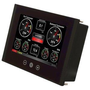 Maretron TSM800C 8'' Vessel Monitoring & Control Touchscreen (NMEA2000 Direct Connection)