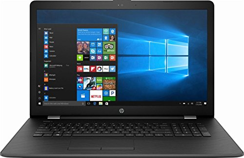 2018 Premium Newest HP 17.3 Inch Flagship Notebook Laptop Computer (Intel Core i5-7200U 2.5GHz, 8GB RAM, 256GB SSD, DTS Studio Sound, Intel HD Graphics 620, WiFi, HD Webcam, DVD, Windows 10) Black