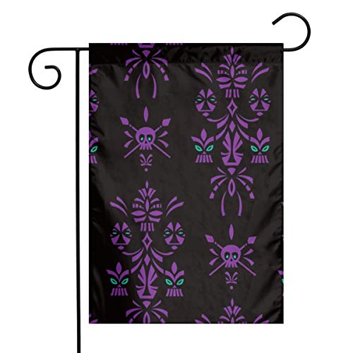 fudin Aloha Sprits Night_187 Garden Flag 12 X 18 Inches, Custom Double-Sided Yard Flag, Polyester House Banner for Indoor Outdoor Home Decor ()