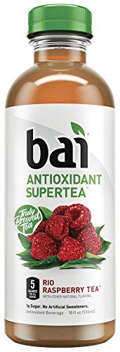 Raspberry Antioxidant Supertea Bottles Pack