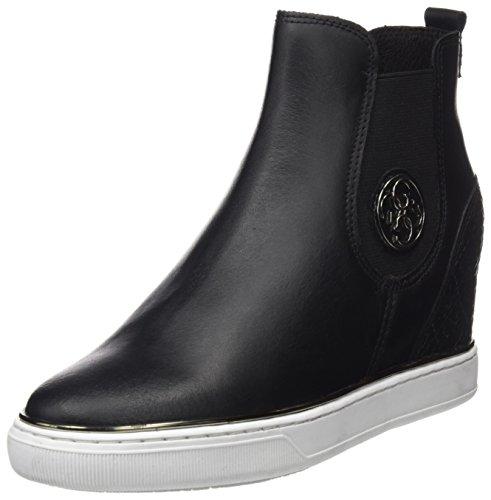 Femme Basses Sneakers Freda Noir Guess xgzwTq7x
