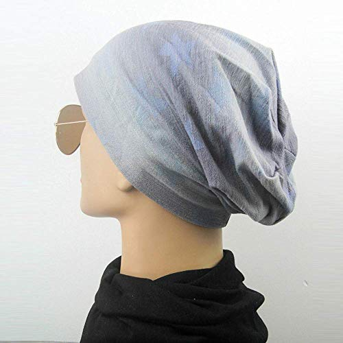 AiBarle azul elástico Punto Hombre Gorro para Rosa Mujer de Mujer Amarillo Suave y algodón de rq6rxEnFt