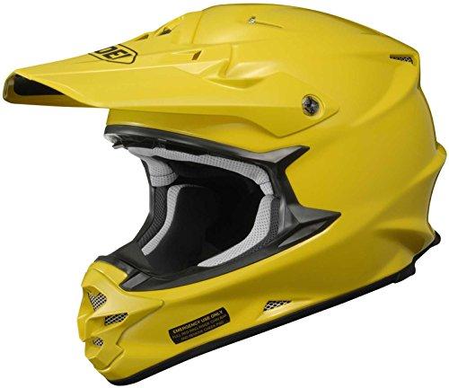 Shoei VFX-W Off-Road Helmet (Brilliant Yellow, X-Small)