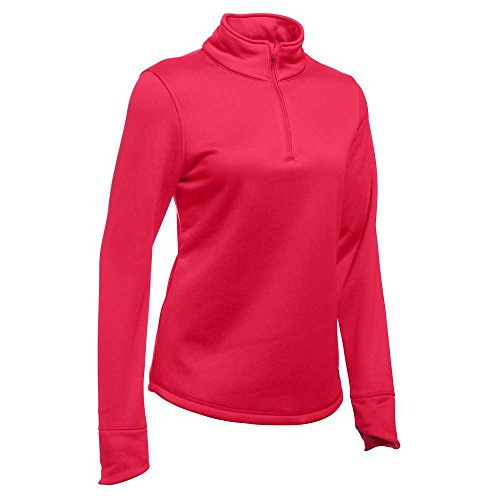 Under Armour Delma 1/4 Zip Top - Women's Knock Out / Maroon XL