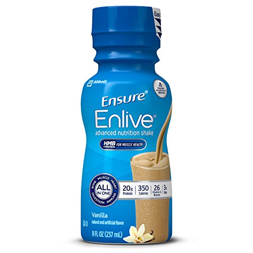 Ensure Enlive Nutrition Shake, Vanilla, 16 Count