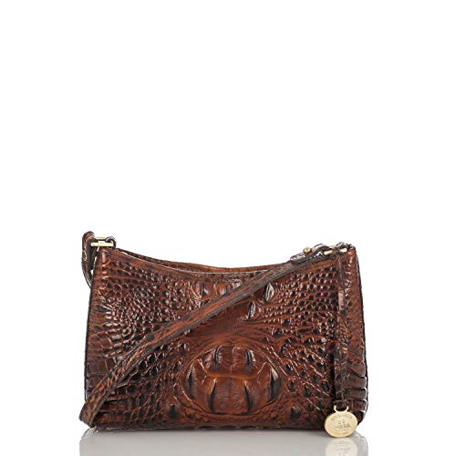Brahmin Anytime Mini Shoulder Bag, Pecan, One Size from Brahmin