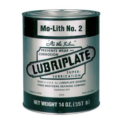 Mo-Lift No.2 Multi-Purpose Grease - mo-lith #2 cart.#18098 [Set of 10] by Lubriplate