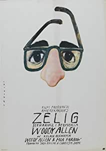 Zelig Poster Movie Polish 11x17 Woody Allen Mia Farrow Susan Sontag Saul Bellow
