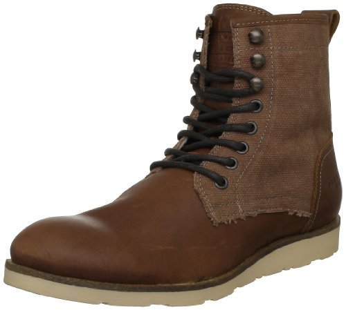 TRADE Leather amp; Braun 12059931 Fashion PREMIUM Brown JONES JACK Sneakers Herren xaqtw
