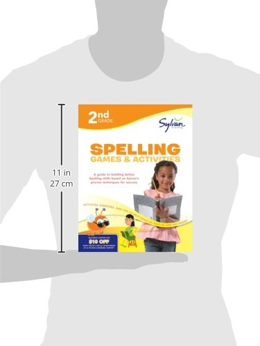 2nd Grade Spelling Games & Activities (Sylvan Workbooks) (Sylvan Language Arts Workbooks) by Sylvan Learning Publishing