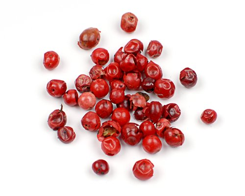 Pink Peppercorns, 25 Lb Bag by Woodland Ingredients