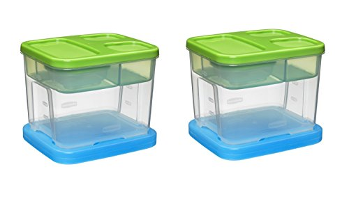 Rubbermaid LunchBlox Salad Kit, Value Pack Of 2 Salad ()