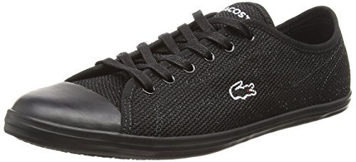 Caw 318 Blk 4 Lacoste Sneaker Nero 02h Blk Donna Ziane qtwU5