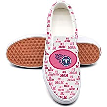 Waltoon Mearian Tennessee Titans Mother's Day Women's Slip-On Sneakers Casual Low Canvas Shoes