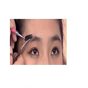 Garrelett 20 Pcs Pro Eyelash Makeup Brush Makeup Adjustable Eyebrow Brush Mascara Wand Applicator for Women Girls Black