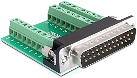 Sub-D Adapter 25-polig