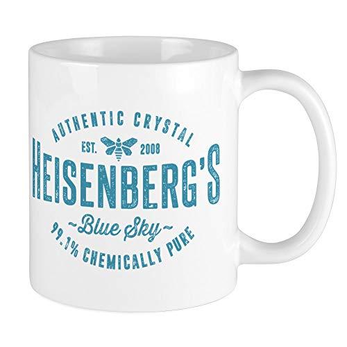 CafePress Heisenberg Blue Sky Breaking Bad Mugs Unique Coffee Mug, Coffee Cup