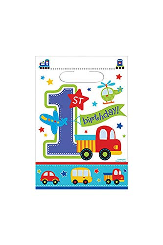 Amscan All Aboard Birthday Luncheon Napkins 33cm