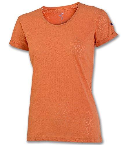 Joma - Camiseta free naranja m/c para mujer