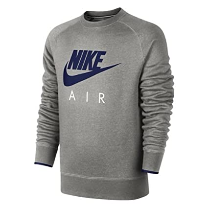wholesale dealer low price new high quality NIKE AW77 Crew Air Heritage Pull polaire à capuche, homme