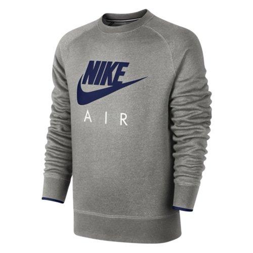 TALLA S. Nike AW77 FLC Crew-Air HERITAG - Sudadera para Hombre