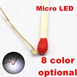 Pre-Wired SMD 0603 LED with Resin Protect