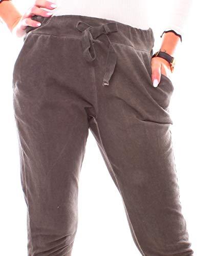 Pantaloni Young Donna relaxed Moka Easy Fashion wEaCqIwx