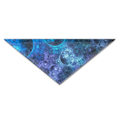Pet Dog Bandana Triangle Bibs Scarf Blue Bubble Accessories for Dogs, Cats, Pets (Bubbles Valance)