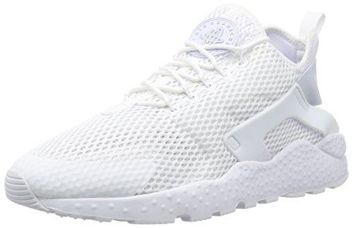 ac2721e826da Galleon - Nike Womens W Air Huarache Run Ultra BR White Pure Platinum Mesh  Size 6