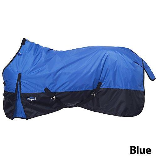 420 Denier Blanket (Tough-1 420 Denier Turnout Blanket 150g 78In Blue)