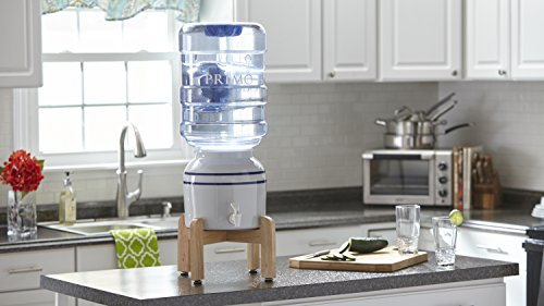 Primo Countertop Porcelain Ceramic Crock Water Dispenser - BPA and LEAD FREE by Primo (Image #1)