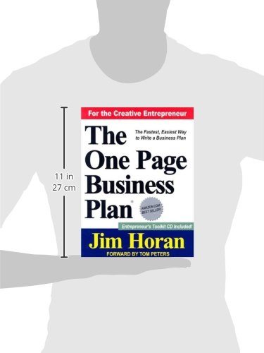 The One Page Business Plan for the Creative Entrepreneur by Brand: The One Page Business Plan Company (Image #1)
