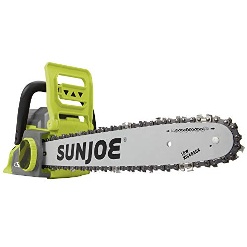 Sun Joe ION16CS 16-Inch 4-Amp 40-Volt Cordless Chain Saw